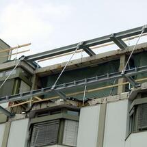 Balkon-Abspannungen