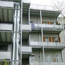 Balkonkonstruktion-Pestalozzistrasse Graz